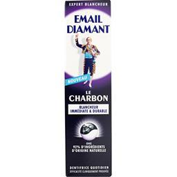 Email Diamant Email Diamant Dentifrice Le Charbon blancheur immédiate le tube de 75 ml