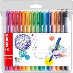 Feutres d'écriture point Max coloris assortis