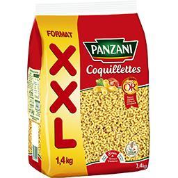 Panzani Panzani Coquillettes le paquet de 1,4 kg