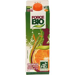 Jus d'orange BIO avec pulpe 100% pur jus