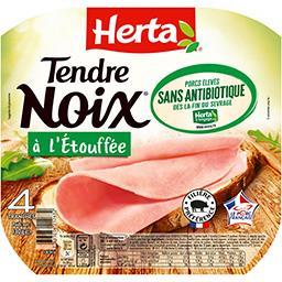 Tendre Noix - Jambon à l'étouffée sans antibiotique