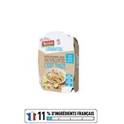 L'Essentiel - Saumon crème ciboulette riz blanc & lé...