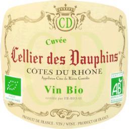 Côtes du Rhône BIO - Cellier des Dauphins