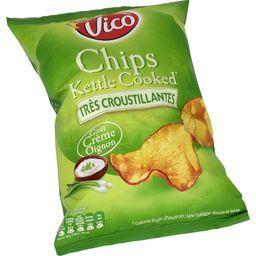 Chips Kettle Cooked goût crème oignon