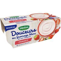 Douceurs au fromage blanc fraises, de 8 à 36 mois