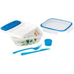Lunch box+ tablette de refroidissement 21x21x7,5 + c...
