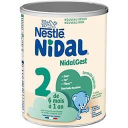 Nidal - Lait en poudre Plus 2, dès 6 mois