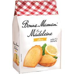 Bonne Maman Bonne Maman La Madeleine citron le paquet de 12 - 300g