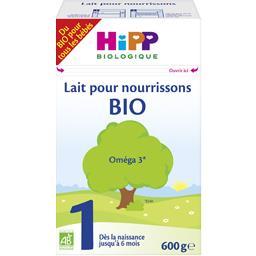 Lait pour nourrissons BIO Oméga 3 de 0 à 6 mois