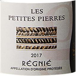 Régnié Les Petites Pierres - Signé Vignerons vin Rouge 2017