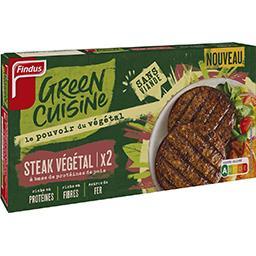 Findus Findus Green Cuisine - Steak végétal protéines de pois la boite de 2 - 200 g