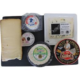 Itinéraire des Saveurs Plateau 5 fromages et confiture de cerise noire le plateau de 620 g