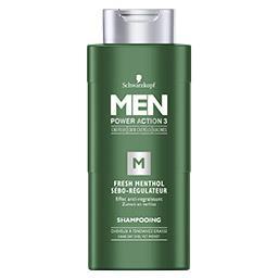 Men - Shampooing Fresh menthol sébo-régulateur
