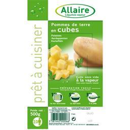 Allaire Allaire Pommes de terre en cubes la boite de 500 g