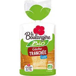 La Boulangère La Boulangère Gâche tranchée à la crème fraîche BIO le paquet de 12 tranches - 400 g