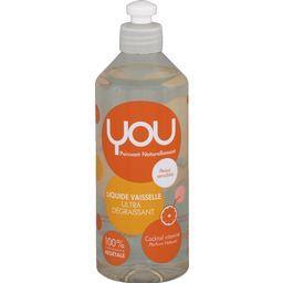 Liquide vaisselle ultra dégraissant parfum naturel
