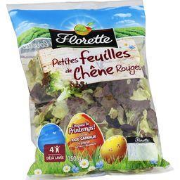 Florette Florette Petites feuilles de chêne rouges le sachet de 150 g