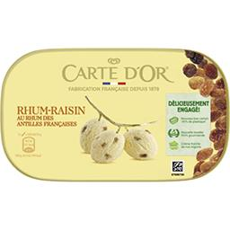 Carte d'Or Carte d'Or Glace rhum raisins Le bac de 900ml