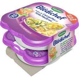 Blédichef - Fondue de courgettes & petits macaronis,...