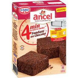 ANCEL Fondant au chocolat 4 minutes au micro-ondes