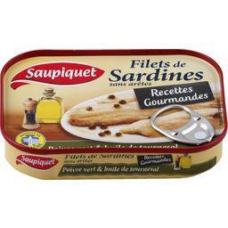 Recettes Gourmandes - Filets de sardines poivre vert