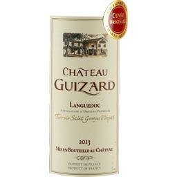 Château guizard, vin rouge