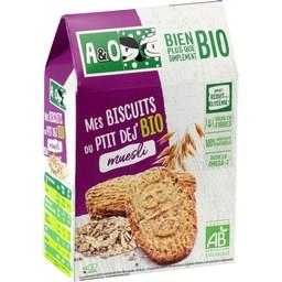 Mes Biscuits du Ptit Dej' BIO muesli