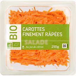 Salade carottes finement râpées BIO