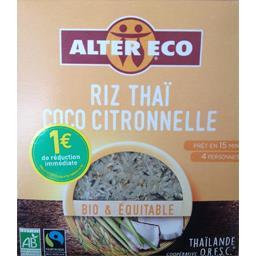 Riz thaï coco citronnelle BIO