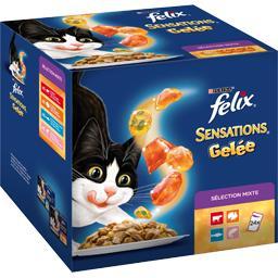 Sensations - Sélection viandes poissons en gelées po...