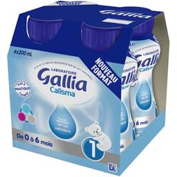 Lait bébé liquide Calisma, de 0 à 6 mois