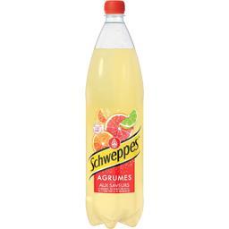 Schweppes Schweppes Soda Agrumes aux saveurs de 4 agrumes la bouteille de 1,5 l
