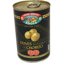 Olives à la farce de chorizo