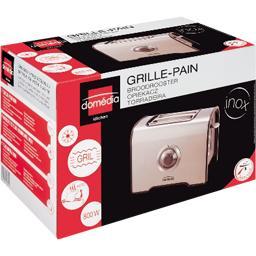 Grille-pain inox
