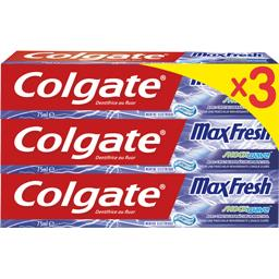 Colgate Max Fresh - Dentifrice au fluor Shock Wave