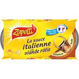 La Sauce Italienne à la viande rôtie