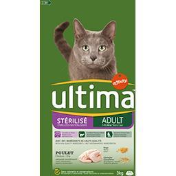 Ultima Ultima Croquettes poulet, orge & céréales pour chats le sac de 3 kg