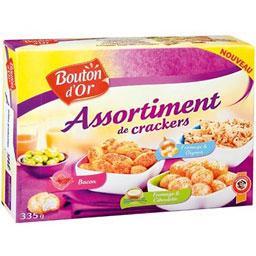 Coffret assortiment classique de biscuits apéritif