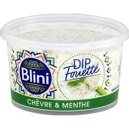 Blini Blini Dip chèvre le pot de 120 g