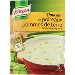 Knorr Knorr Douceur de poireaux pommes de terre, soupe déshydratée le sachet de 80 Gr