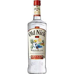 Old Nick Old Nick Rhum blanc traditionnel des Antilles la bouteille de 100 cl