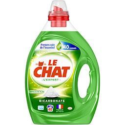 Le Chat Le Chat Lessive liquide l'Expert bicarbonate le flacon de 2 l