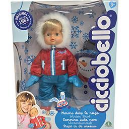Cicciobello Cicciobello Bébé animé, marche dans la neige - à partir de 3 ans La poupée
