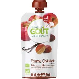 Compote pomme châtaigne vanille BIO, dès 4 mois
