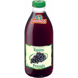 Jus de raisins pressés