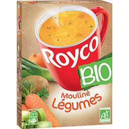 Royco Royco Mouliné légumes BIO les 3 sachets de 18,0 g