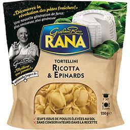 Giovanni Rana Rana Tortellini Ricotta & épinards le sachet de 250 g
