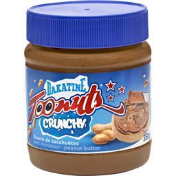 Dakatine Beurre de cacahuètes Toonuts Crunchy le pot de 350 g