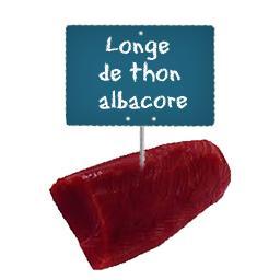 Longe de thon albacore
