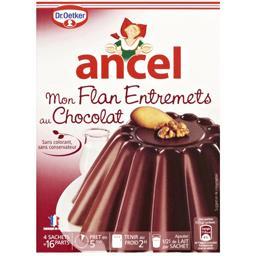 Mon Flan Entremets au chocolat